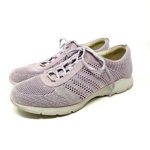 Dansko Adrianne Sneakers in Orchid Washed Knit